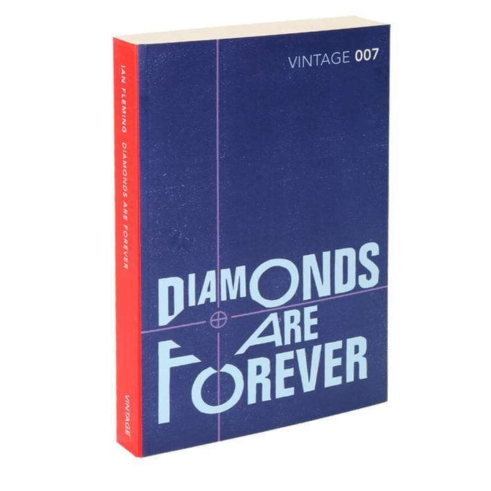 Diamonds Are Forever: Vintage 007 Paperback Book - By Ian Fleming - 007STORE