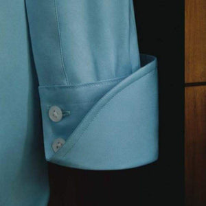 Blue Cotton Shirt - Dr. No Edition - By Turnbull & Asser