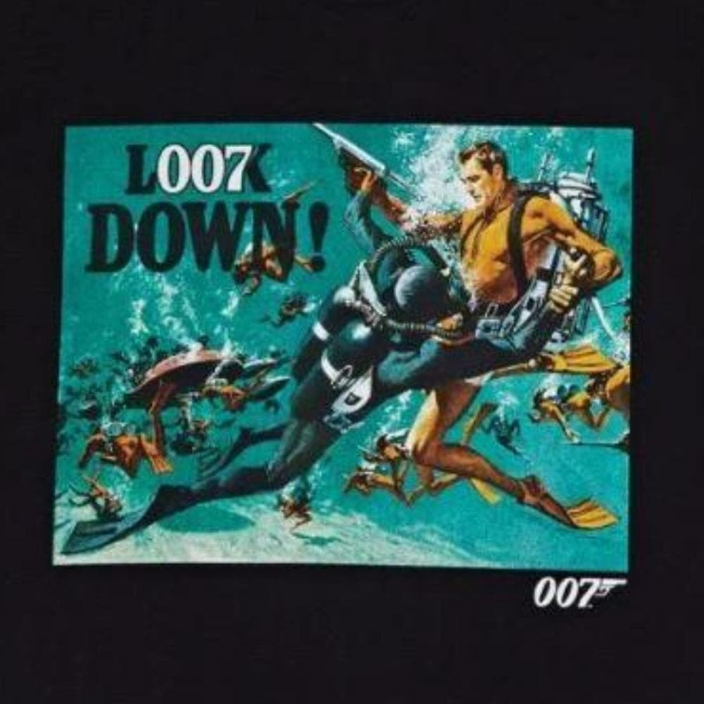 "Thunderball ""Look Down"" Graphic T-Shirt - 007STORE"