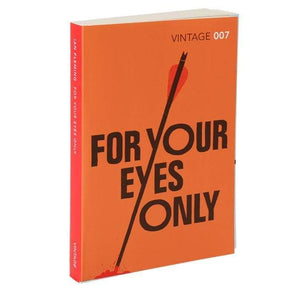 For Your Eyes Only: Vintage 007 Paperback Book - By Ian Fleming - 007Store