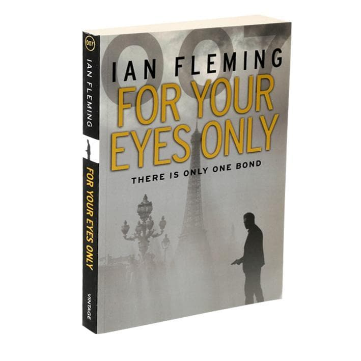 For Your Eyes Only: James Bond Paperback Book - By Ian Fleming - 007STORE