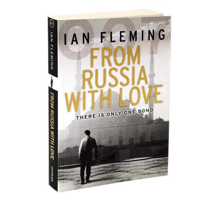 From Russia With Love: James Bond Paperback Book - By Ian Fleming - 007Store