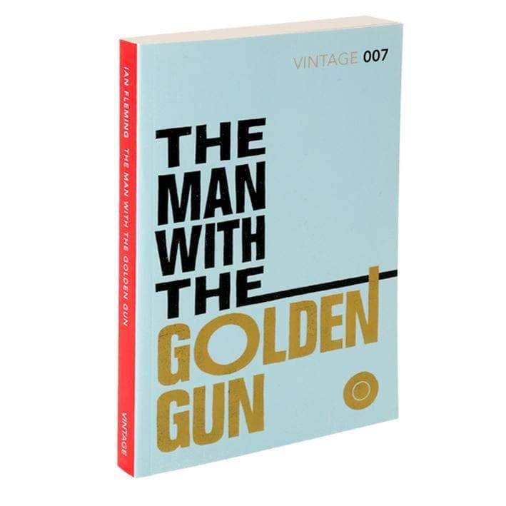 The Man With The Golden Gun: Vintage 007 Paperback Book - By Ian Fleming - 007Store