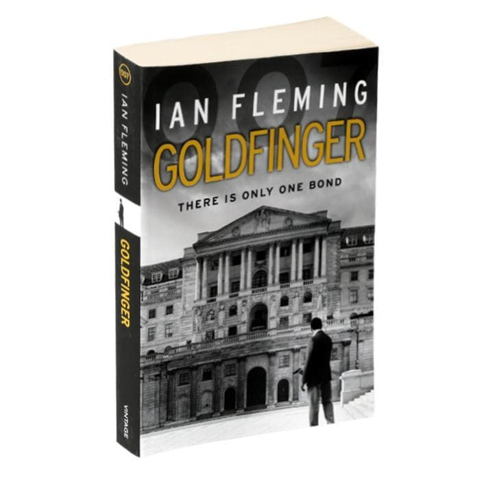 Goldfinger: James Bond Paperback Book - By Ian Fleming - 007STORE