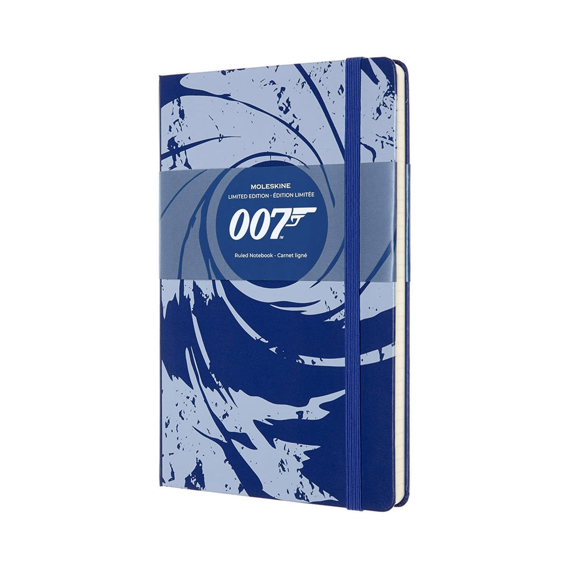 007 Blue Gun Barrel Notebook By Moleskine l Official James Bond 007 Store