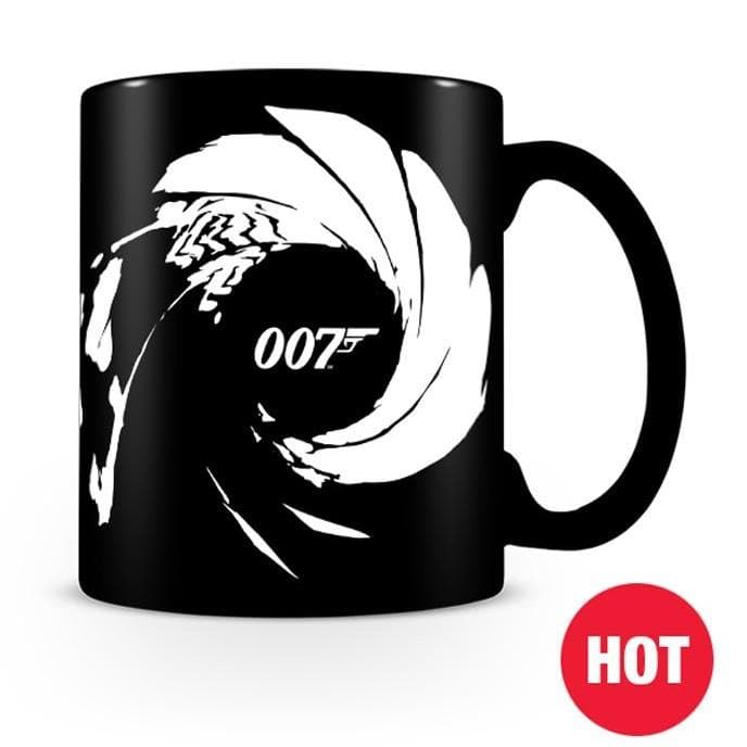 007 Heat Change Gun Barrel Mug