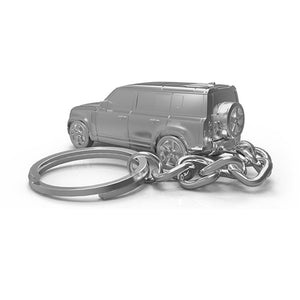 New Land Rover Defender 110 Car Keyring - No Time To Die Edition - 007STORE