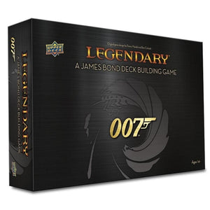 Legendary 007: A James Bond Deck Building Game by Upper Deck - 007STORE