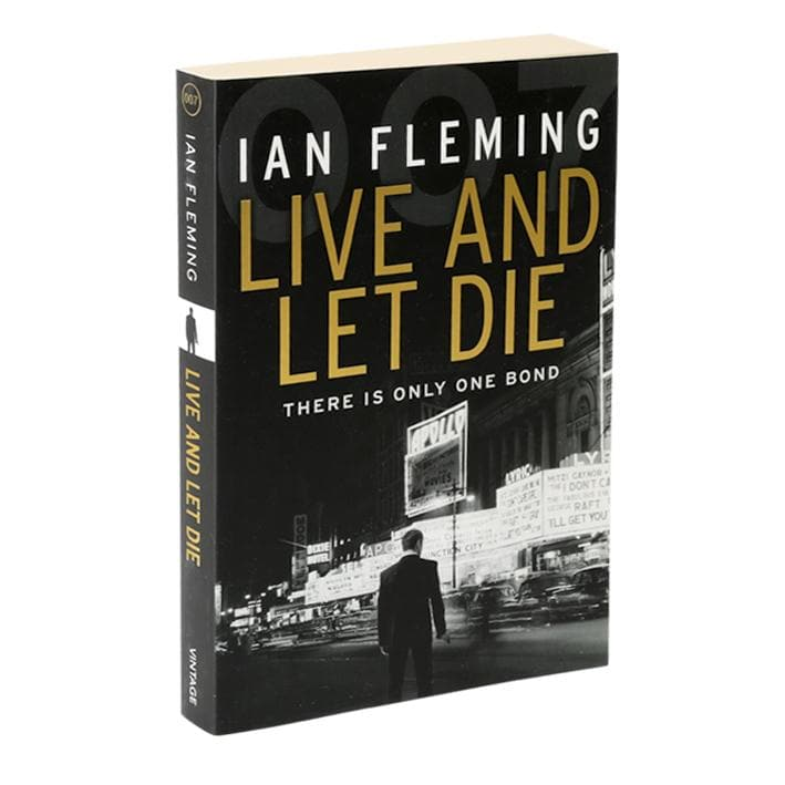 Live And Let Die: James Bond Paperback Book - By Ian Fleming - 007STORE