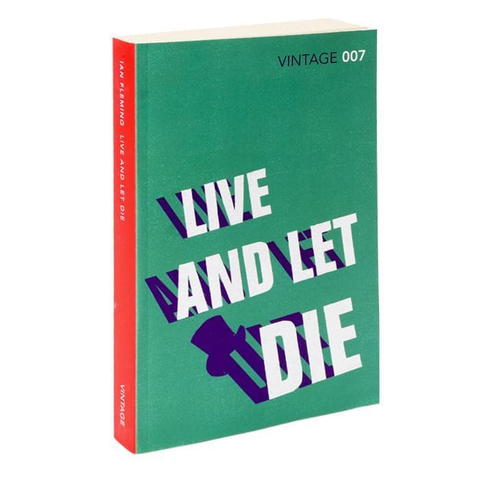 Live and Let Die: Vintage 007 Paperback Book - By Ian Fleming - 007STORE