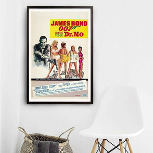 Dr. No Fine Art Print - Numbered Edition (Unframed) l Official James Bond 007 Store
