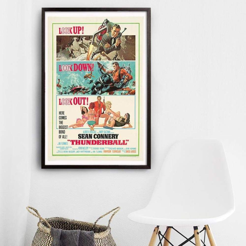 Thunderball Fine Art Print - Numbered Edition (Unframed) - 007STORE