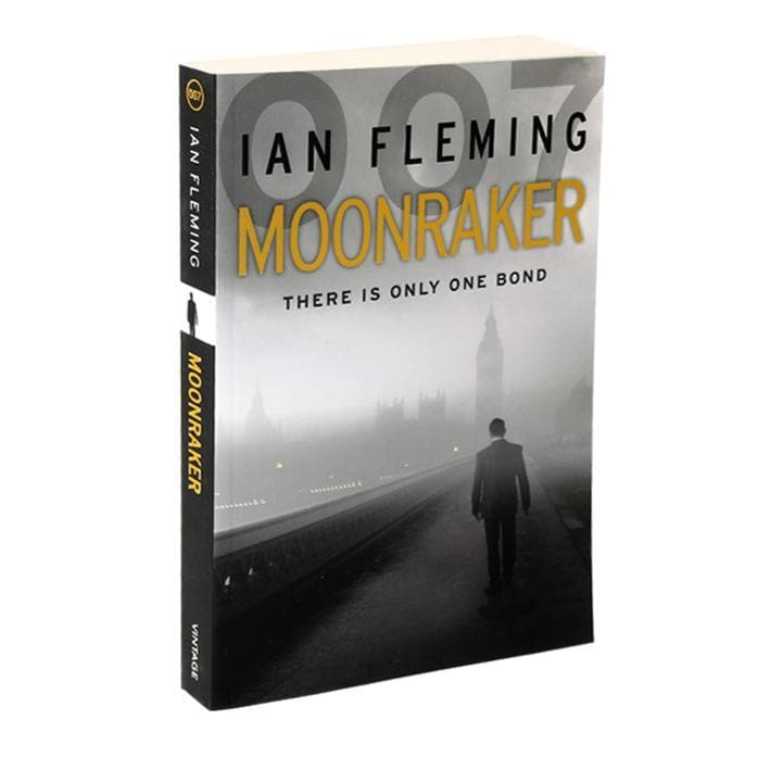 Moonraker: James Bond Paperback Book - By Ian Fleming - 007STORE