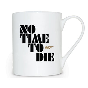 No Time To Die Bone China Mug - 007STORE