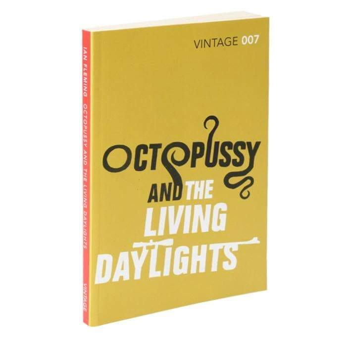 Octopussy And The Living Daylights: Vintage 007 (PAPERBACK) - 007STORE