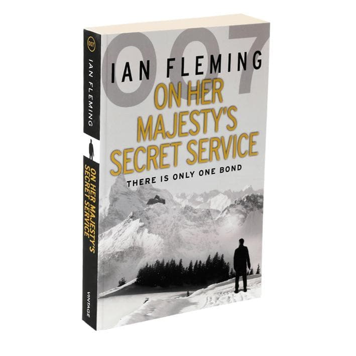 On Her Majesty's Secret Service: James Bond Paperback Book - By Ian Fleming - 007STORE