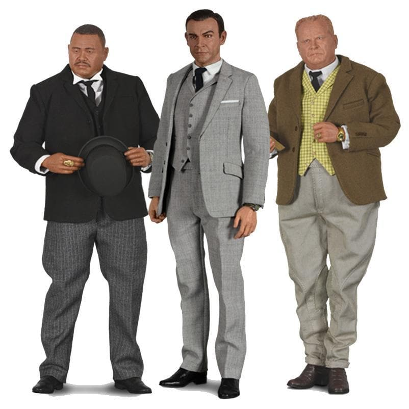 LIMITED EDITION 1:6 SCALE GOLDFINGER COLLECTION FIGURES