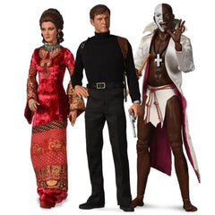 Limited Edition 1:6 Scale James Bond Live And Let Die Collection Figures (Pre-Order)