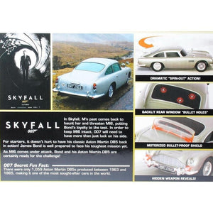007 Aston Martin DB5 Light & Sound Car - Skyfall Q Branch Edition - 007STORE