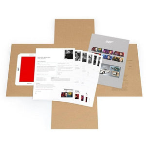 Royal Mail James Bond Secret Dossier - 007STORE