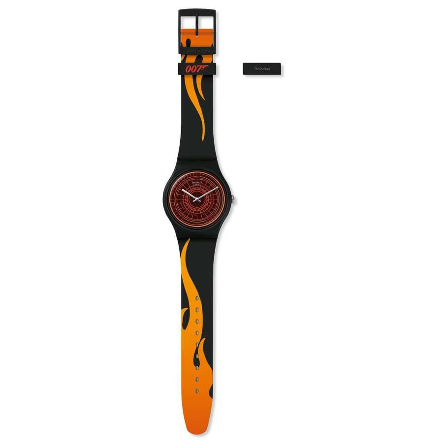007 Swatch Watch - The World Is Not Enough Limited Edition