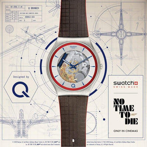 Q Swatch Watch - ²Q Blue Edition
