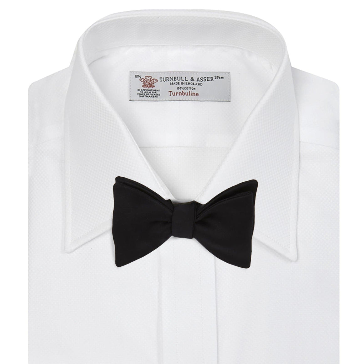 White Cotton Dress Shirt By Turnbull & Asser - Casino Royale Edition - 007STORE