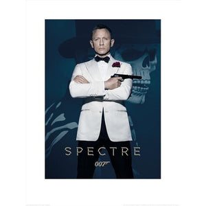 James Bond Spectre (Skull) 60 x 80cm Art Print - 007STORE
