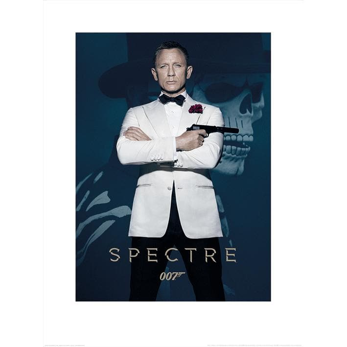 JAMES BOND SPECTRE (SKULL) 60 x 80CM ART PRINT