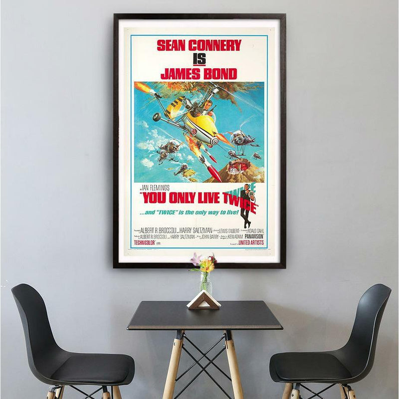 You Only Live Twice Fine Art Print - Numbered Edition (Unframed) - 007STORE