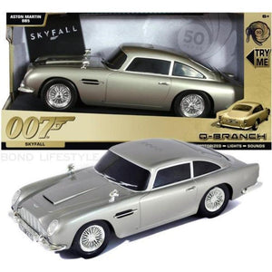 007 Aston Martin DB5 Light & Sound Car - Skyfall Q Branch Edition