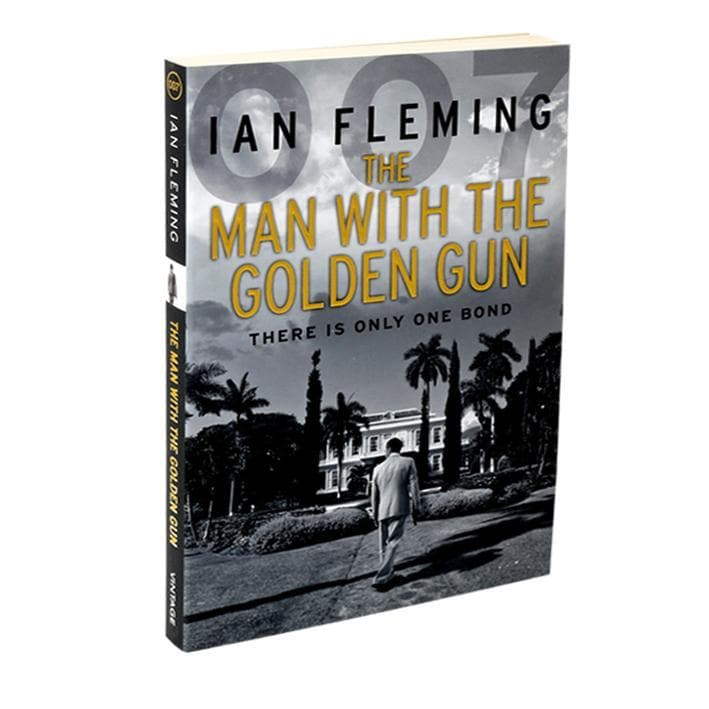 The Man With The Golden Gun: James Bond Paperback Book - By Ian Fleming - 007STORE
