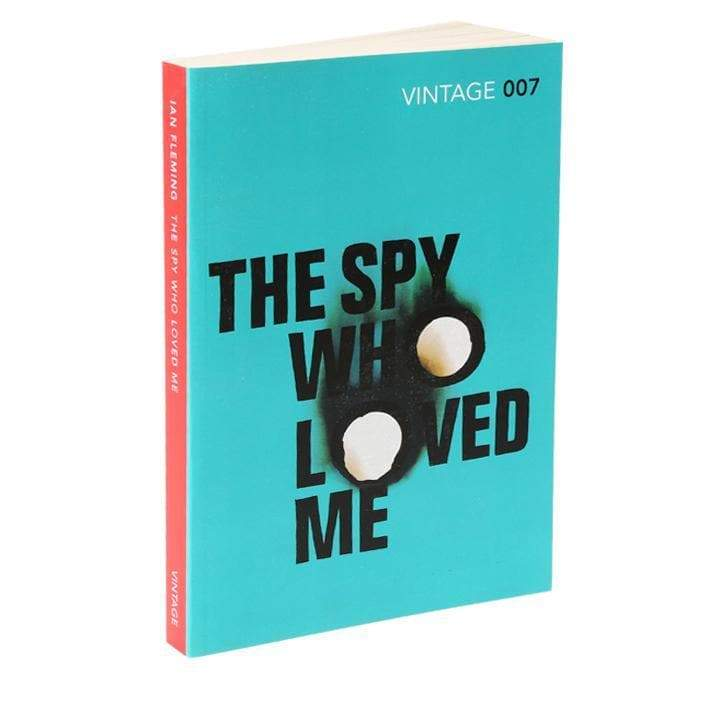 The Spy Who Loved Me: Vintage 007 Paperback Book - By Ian Fleming - 007STORE
