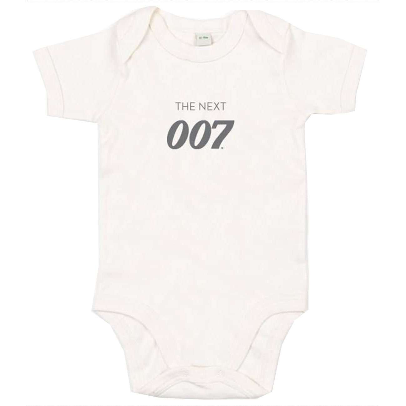 The Next 007 Natural Baby Bodysuit
