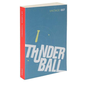Thunderball: Vintage 007 Paperback Book - By Ian Fleming - 007STORE