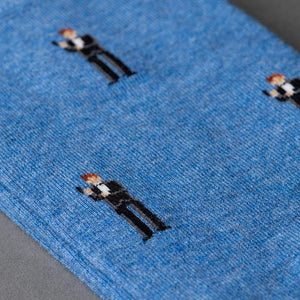 """The Double-O"" James Bond Socks - By The London Sock Exchange"