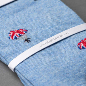 """The Chute"" James Bond Socks - By The London Sock Exchange (Pre-order)"