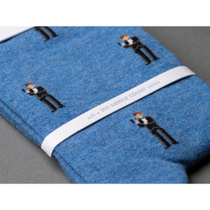 """The Double-O"" James Bond Socks - By The London Sock Exchange (Pre-order)"
