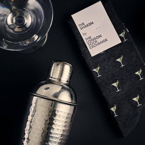 """The Shaken"" James Bond Socks - By The London Sock Exchange"