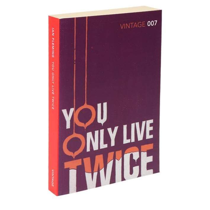 You Only Live Twice: Vintage 007 Paperback Book - By Ian Fleming - 007STORE