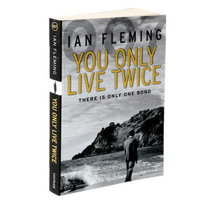 You Only Live Twice: James Bond Paperback Book - By Ian Fleming - 007STORE