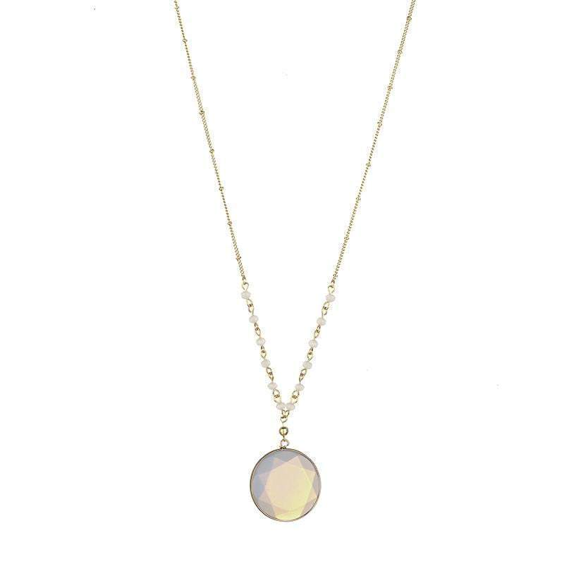 April natural stone necklace - G x G Collective