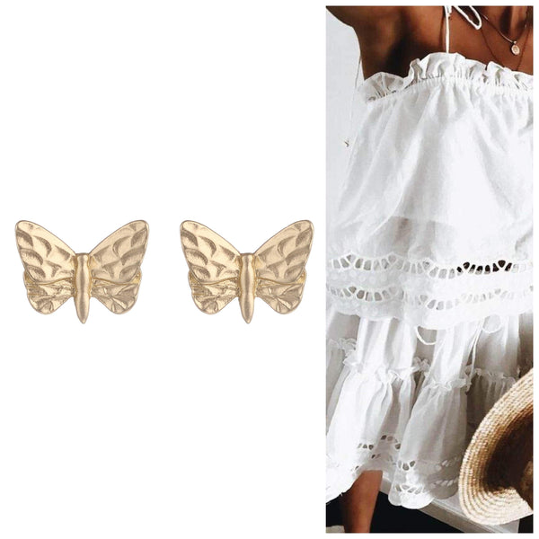 Betty Butterfly Earrings - G x G Collective