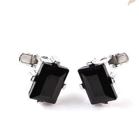 Black Luxe Jewelled Cufflinks - G x G Collective
