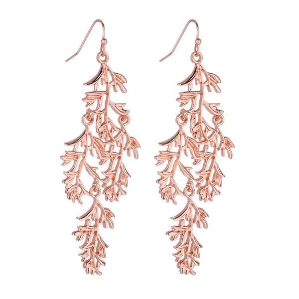 Chrissy Rose Gold Earrings