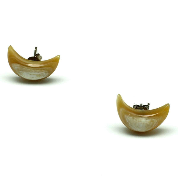 Crescent Moon Horn Shaped Earrings - G x G Collective
