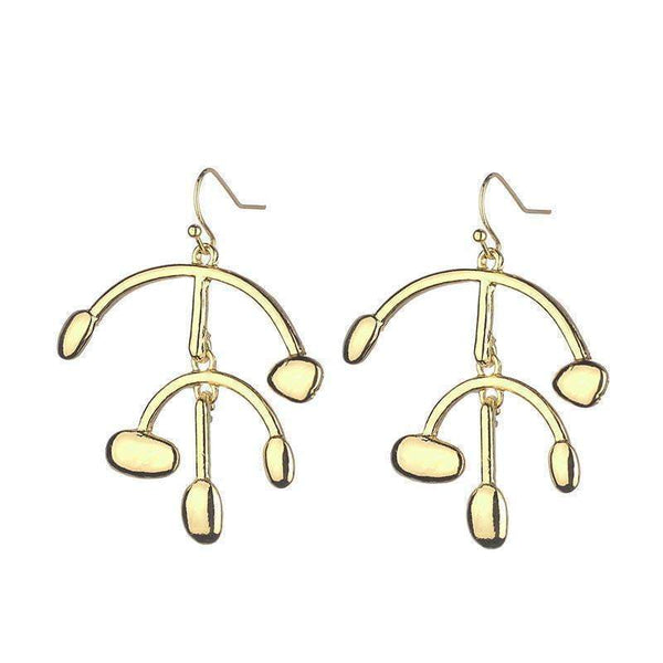 Daisy gold vermeil earrings - G x G Collective