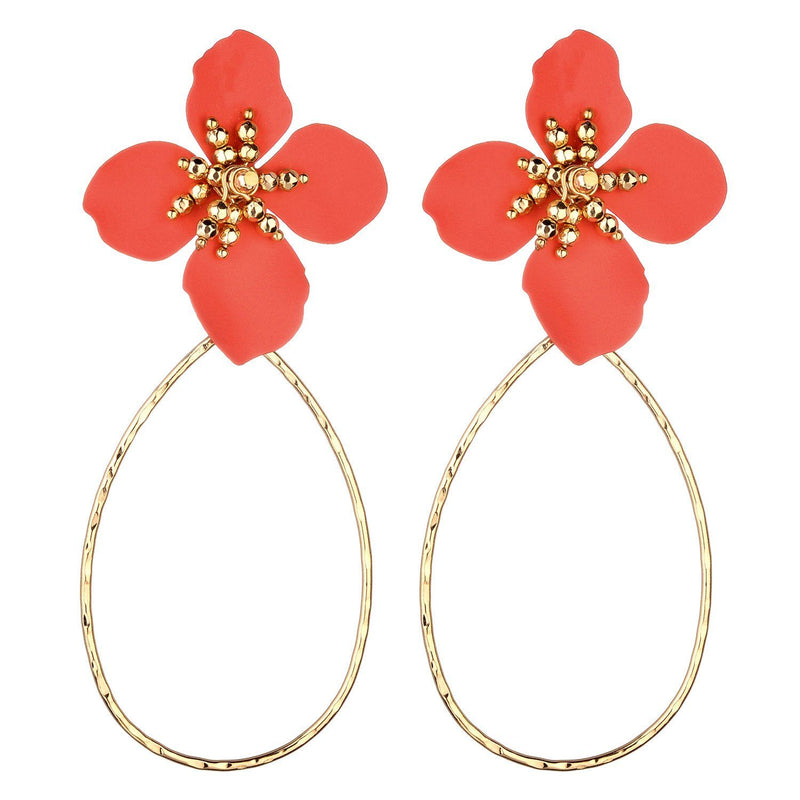 Hannah Flower Earrings
