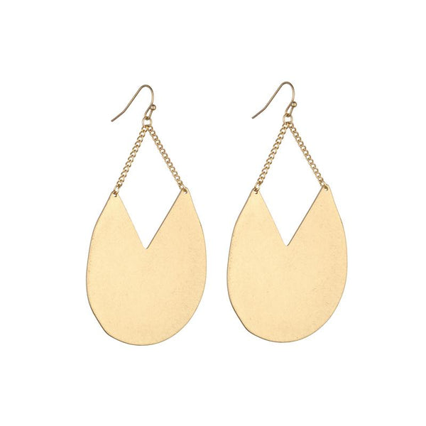 Jessica Earring in Silver and Gold