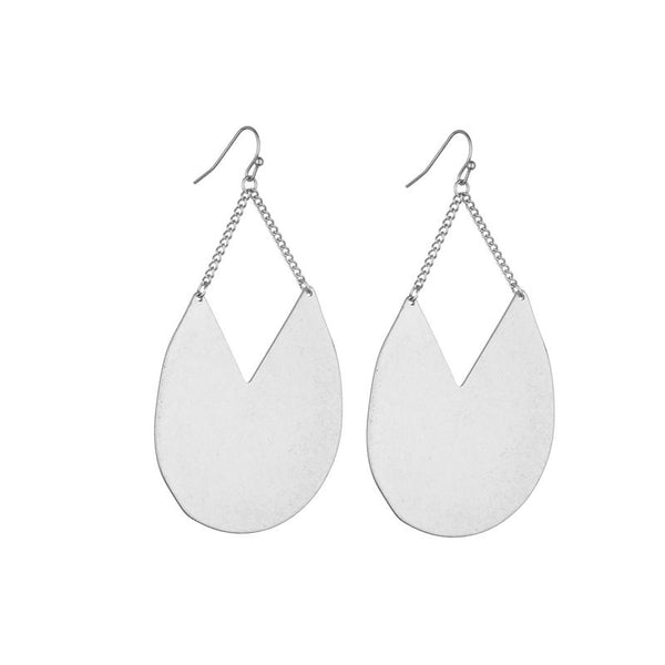 Jessica Earrings - Silver and Gold